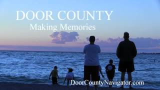 Door County - Making Memories - Sunset Sister Bay - Door County Activities