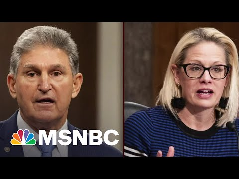 Biden Appears To Call Out Manchin And Sinema During Speech