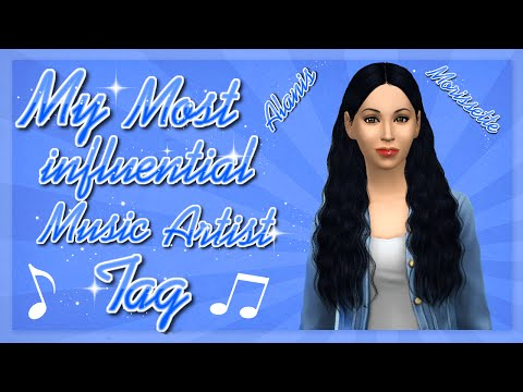 My Most Influential Music Artist Tag: Alanis Morissette || The Sims 4 CAS