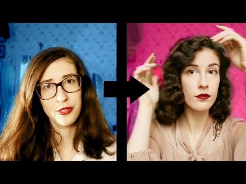 How I Do My Hair, 1940s Style - Long and Detailed!