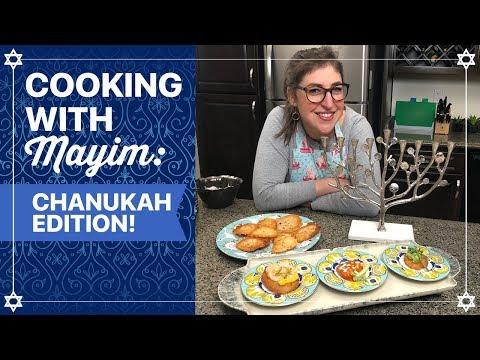 How To Cook Latkes for Hanukkah || Mayim Bialik