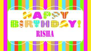 Risha   Wishes & Mensajes - Happy Birthday
