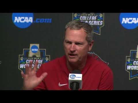 2018 College World Series - CWS Game 8 Press Conference (Arkansas)