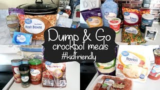 WHAT'S FOR DINNER COLLAB   EASY DUMP & GO CROCKPOT MEALS