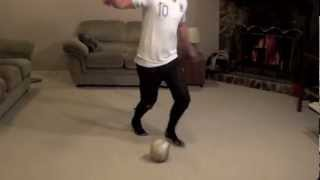 At Home Football Drills: How To Do Football Dribbling Drills At Home