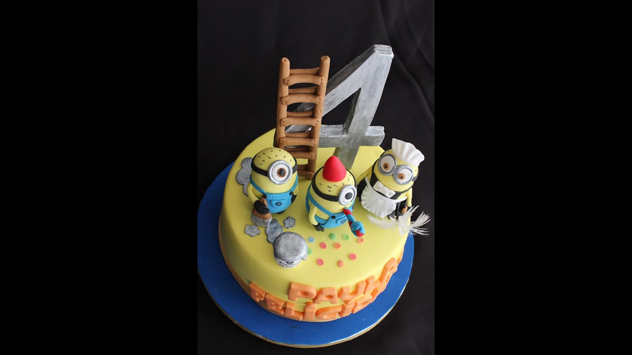 Tarta Minions Youtube