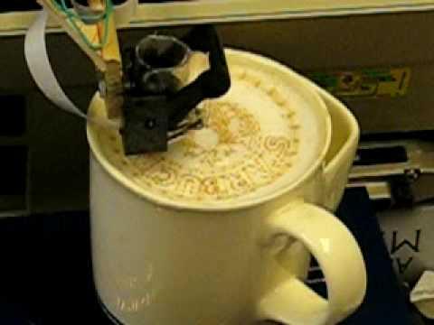 Latte Art Printing Machine Youtube