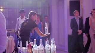 бармен шоу Краснодар Роман Бурлака(, 2014-02-19T04:12:41.000Z)