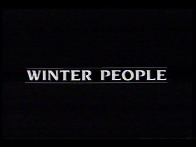 Winter People (1989) Teaser (VHS Capture)