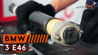 Hvordan man skifter støddæmpere bagtil BMW 3 E46 Vejledning | Autodoc