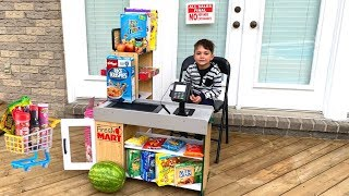 Zack Pretend Play Grocery Store with Super Market Toys!