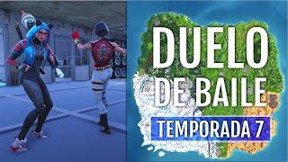 CÓMO HACER EL DUELO DE BAILE (TEMPORADA 7)| FORTNITE BATTLE ROYALE