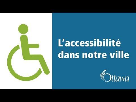 L'accessibilité dans notre ville