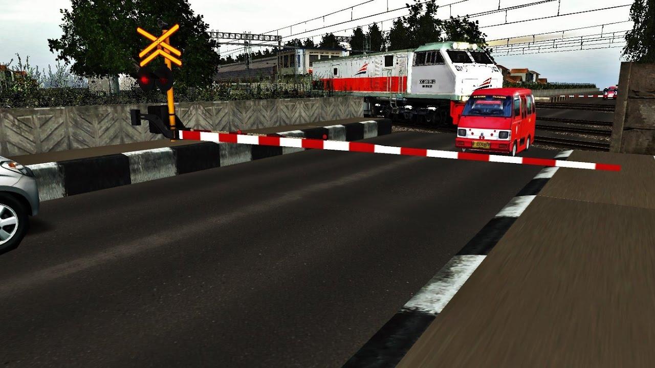Trainz Simulator Indonesia - Detik Detik Angkot Nyaris ...