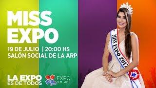 Elección de Miss EXPO 2018
