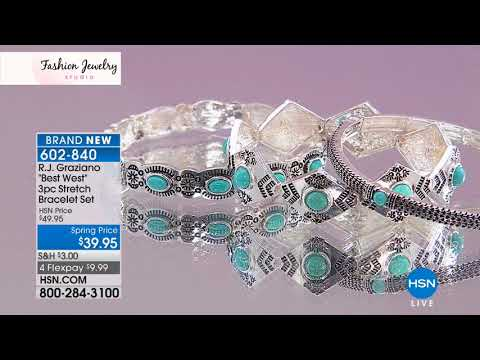 HSN | Fashion Jewelry Studio 03.15.2018 - 02 AM
