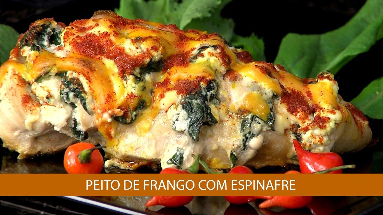 Resultado de imagem para Batata-doce Recheada Com Frango e Espinafre