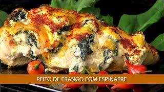 Peito De Frango Com Espinafre E Omelete De Espinafre Youtube