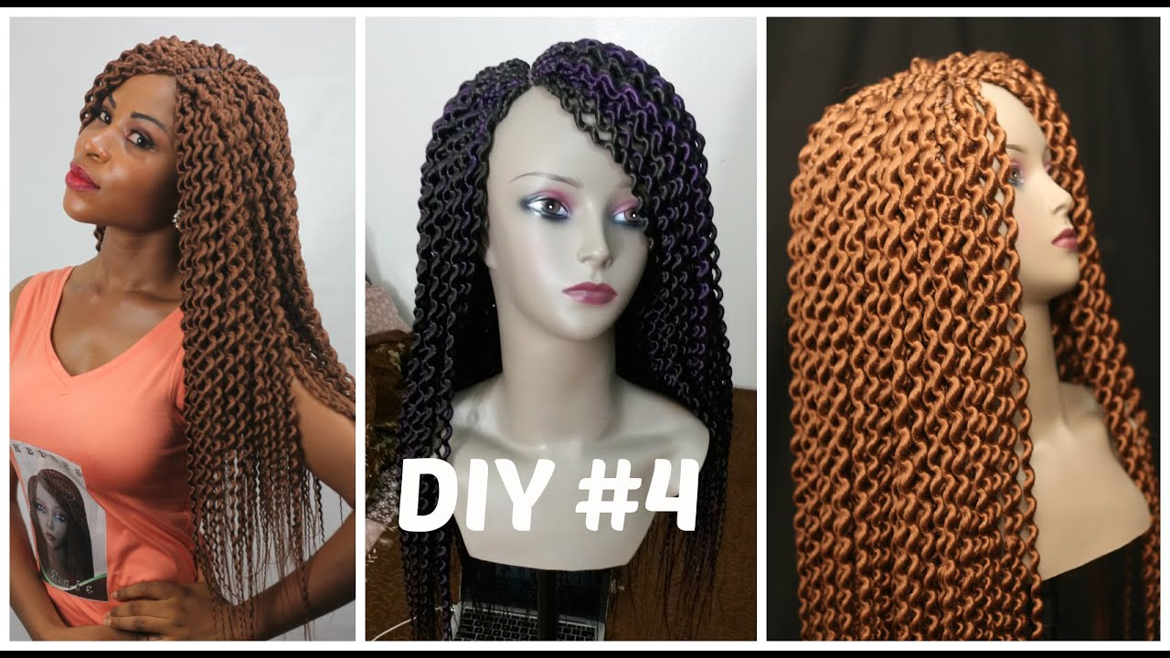 Diy 4 Senegalese Loose Twist Wig Youtube