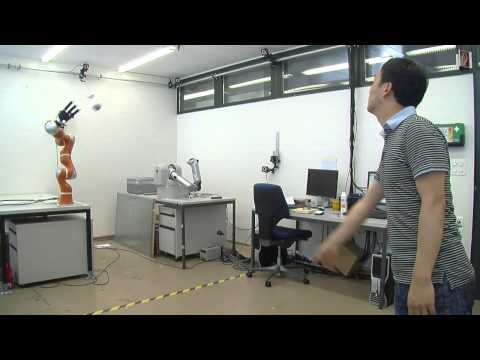 Robot that can catch - Learning Algorithms and Systems Laboratory