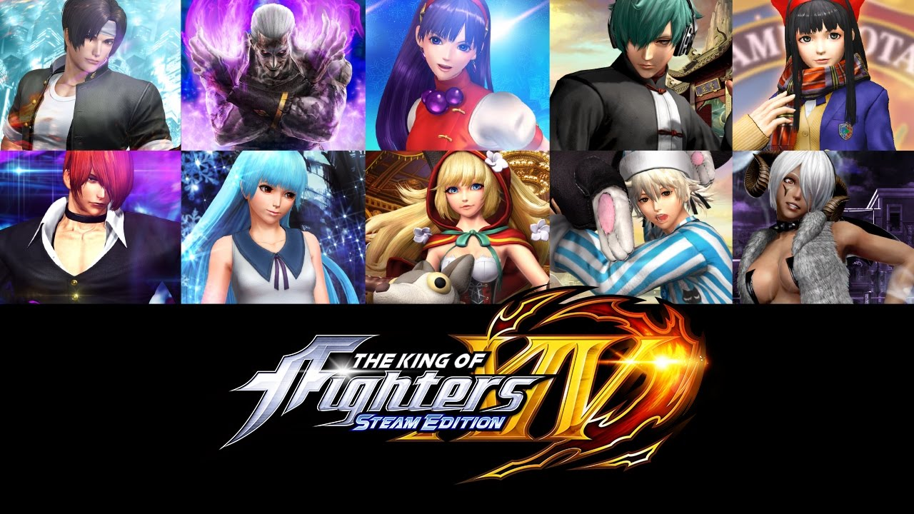 Kof Xiv Steam Edition Deluxe Pack 10 Dlc Costumes Youtube