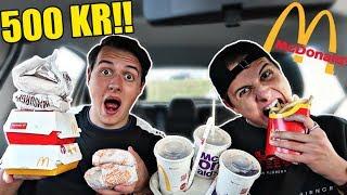 PERSONEN FORAN BESTEMMER VORES MAD!? (X2) McDonalds - MeetUp, Carpool, Hygge