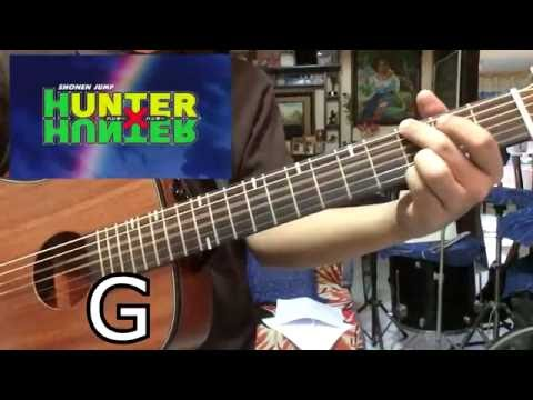 Hunter X Hunter Opening theme (Chords) (Ohayou By Keno)