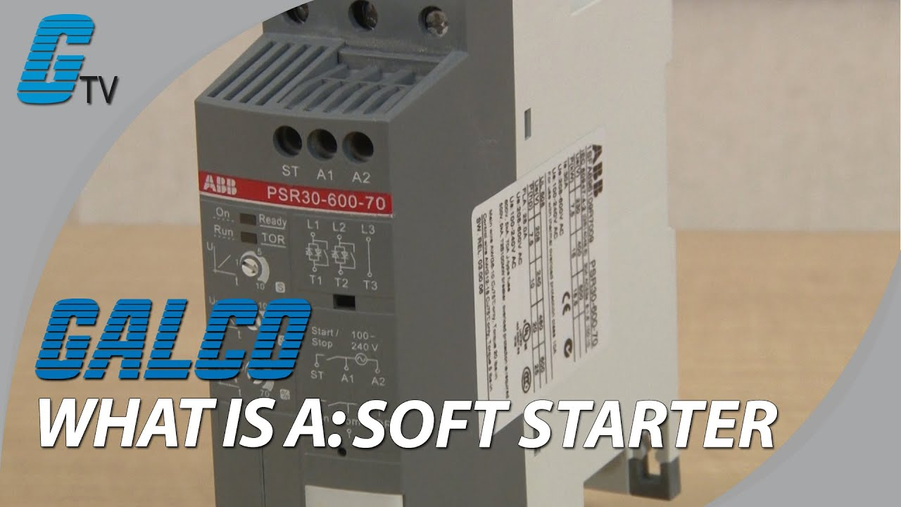 What is a Soft Starter? - YouTube