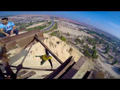 Samah soufiane parkour freerunning youssoufia 2017