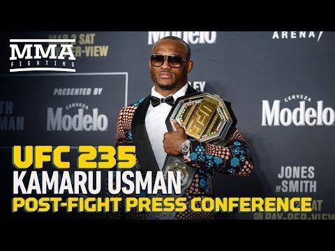 UFC 235: Kamaru Usman Post-Fight Press Conference - MMA Fighting