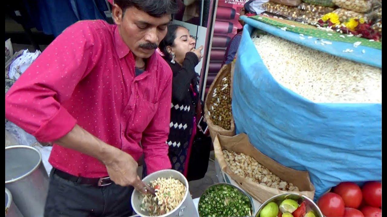 Kolkata Famous Evening Snacks | Chatpata Masala Muri & Papri Chaat | Indian Street Food