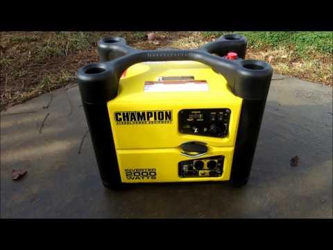 Champion Inverter Generator First Start Up And Testing