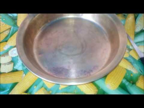 Как почистить латунный таз