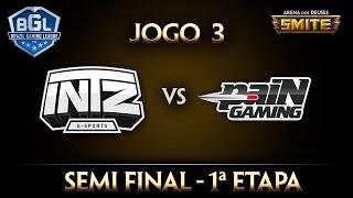 intz x pain semi final jogo 2 smite bgl 2016 1ª etapa