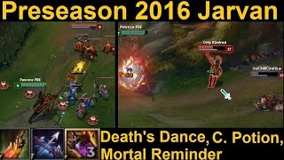 Preseason 2016 Jarvan Gameplay - Death