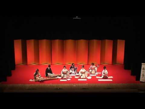 箏曲 船の夢 菊岡検校作曲 第44回 上智大学箏曲部 定期演奏会