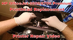 HP OfficeJet 6600/6700 Printhead Replacement - Detailed Printer Repair!