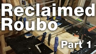 Reclaimed Roubo Woodworking Bench:  Part 1