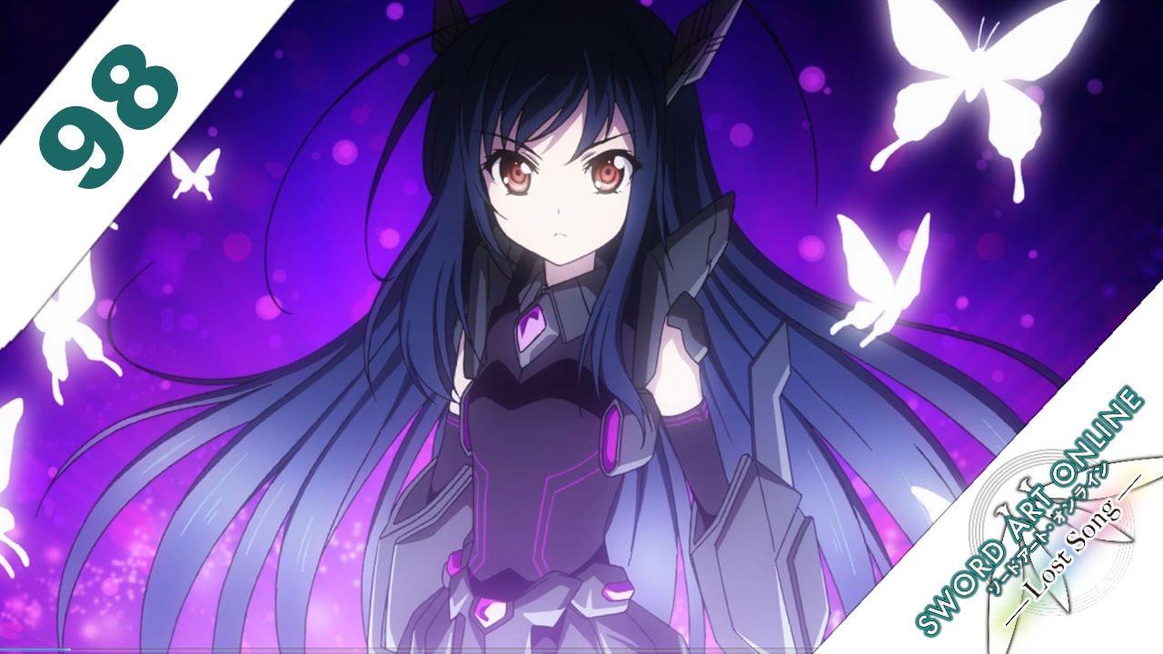 Sword Art Online Lost Song English Walkthrough Ps3 Ps Vita 98 Kirito Vs Black Lotus Accel World Youtube