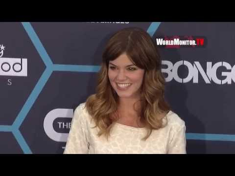 Rachel Melvin Arrives at 2014 Young Hollywood Awards
