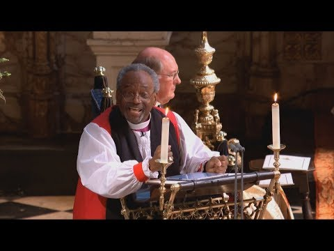 Royal Wedding: 'Love Is The Way' - Michael Curry gives sermon at Harry and Meghan's marriage