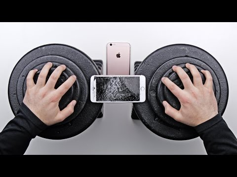 iPhone 6S Plus Bend Test