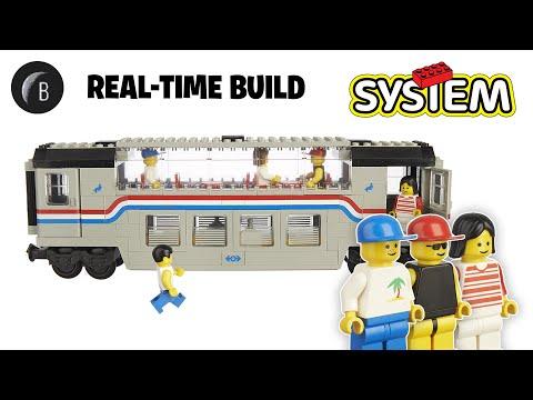 LEGO 4547 - Railroad Club Car - Trains - Build Review
