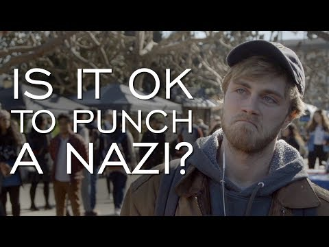 Is It OK To Punch a Nazi? We Asked Berkeley Students.