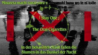 Song: Stay One Artist: The Oral Cigarettes.