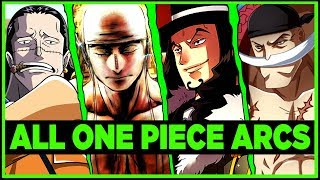 RANKING EVERY ARC IN ONE PIECE - [ w/ Tekking101 ]