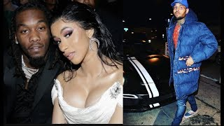 I WANT YO WIFE! Chris Brown Tells Offset He Plans To Send Cardi B Flowers To Show Her