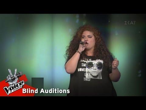 Δήμητρα Φράγκου - Is this love | 14o Blind Audition | The Voice of Greece