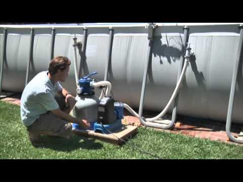 Combo depuradora de arena cloraci n salina intex for Depuradora de arena para piscina