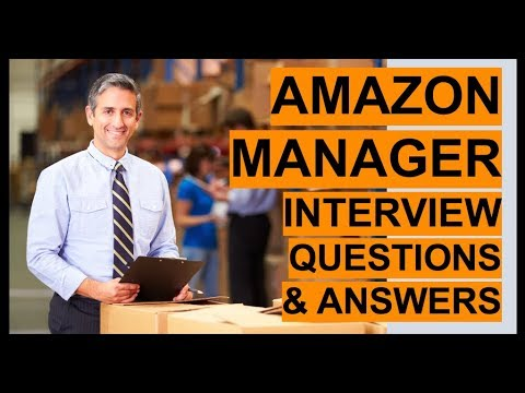 AMAZON MANAGER Interview Questions And Answers! - YouTube